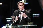 Category: Animated Film<br /> Citation reader(s): Eddie Izzard<br /> Winner:<br /> L-r: