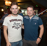 09/09/2015 Repro free: <br /> McGettigan's Galway Q&A session with Shane Lowry<br /> <br /> <br />  McGettigan's Galway were delighted to welcome WGC Bridgestone Champion and brand ambassador, Shane Lowry for his first visit to McGettigan's Galway for an exclusive Q&A session for invited guests.<br /> Shane discussed his rise from amateur status, all the challenges he's faced and overcome along the way and his most recent win at the WGC Bridgestone Championship. <br /> At the event were Peter and John Keeley from Menlo.<br /> <br /> www.mcgettigans.com<br /> <br /> Follow McGettigan's Galway  on Twitter -@McGettigansGWY <br /> Photo:Andrew Downes, xposure.
