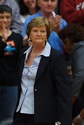 Dec 20, 2011; Stanford CA, USA;  Tennessee Lady Volunteers head coach Pat Summitt on the sidelines before the game against the Stanford Cardinal at Maples Pavilion.  Stanford defeated Tennessee 97-80. Mandatory Credit: Jason O. Watson-US PRESSWIRE