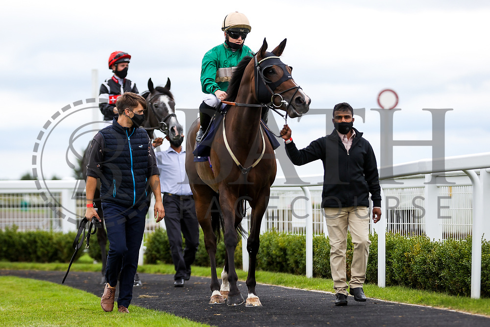 Salkeev ridded by Hollie Doyle (T: Archie Watson) ahead of the 16:10 Visit valuerater.co.uk For Free Handicap - Rogan/JMP - 14/07/2020 - HORSE RACING - Bath Racecourse - Bath, England.