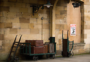 Train station in Pickering, England