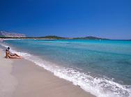 The Lu Impostu Beach   San Teodoro<br /> Northeast Coast  Sardinia  Italy