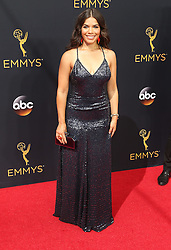 America Ferrera  bei der Verleihung der 68. Primetime Emmy Awards in Los Angeles / 180916<br /> <br /> *** 68th Primetime Emmy Awards in Los Angeles, California on September 18th, 2016***