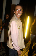 Dan Macmillan, Burberry party to launch perfume. the Old In and Out club, Piccadilly. 22/9/03 © Copyright Photograph by Dafydd Jones 66 Stockwell Park Rd. London SW9 0DA Tel 020 7733 0108 www.dafjones.com