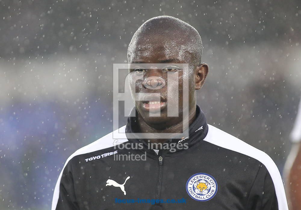 Ngolo Kante of Leicester City prior to the Barclays Premier League match against Everton at Goodison Park, Liverpool.<br /> Picture by Michael Sedgwick/Focus Images Ltd +44 7900 363072<br /> 19/12/2015