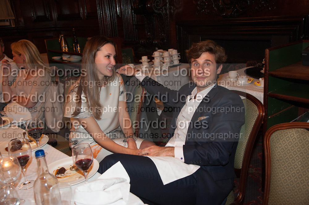 MARIA BAIBAKOVA; ADRIEN FAURE, Opening of Morris Lewis: Cyprien Gaillard. From Wings to Fins, Sprüth Magers London Grafton St. London. Afterwards dinner at Simpson's-in-the-Strand hosted by Monika Spruth and Philomene Magers.