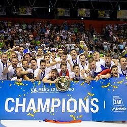 20180729: SLO, Handball - EHF U20 Men European Championship 2018, Final match, France vs. Slovenia
