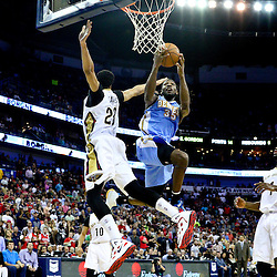 03-15-2015 Denver Nuggets at New Orleans PelicanS
