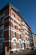 Salthouse Hotel converted industrial building, Wet Dock, Waterfront, Ipswich, England