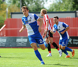 Tom Lockyer of Bristol Rovers - Mandatory by-line: Neil Brookman/JMP - 25/07/2015 - SPORT - FOOTBALL - Cheltenham Town,England - Whaddon Road - Cheltenham Town v Bristol Rovers - Pre-Season Friendly