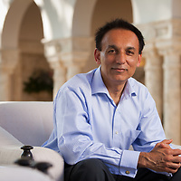 Bharat Desai, Co-Founder and Executive Chairman, Syntel Corporation at Fisher Island Resort, Miami, Florida