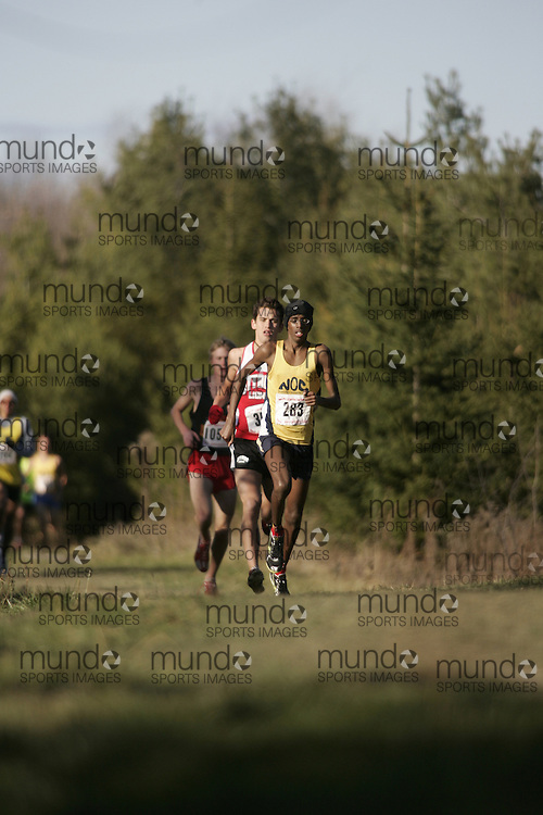 Brockville, Ontario ---18/11/07--- OTFA Cross country championships 2007.GEOFF ROBINS ..