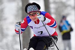 LEE Doyeon, KOR, LW12 at the 2018 ParaNordic World Cup Vuokatti in Finland