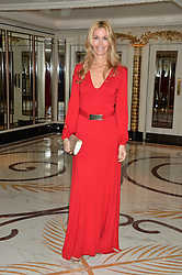 MELISSA ODABASH at a birthday dinner for Claire Caudwell for family & friends held at The Dorchester, Park Lane, London on 24th January 2014.