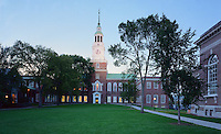 Baker Hall, Dartmouth College at Dusk