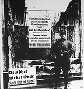 Anti-Jewish boycott of German Jews by Nazi's shortly after the Hitler Government took office: 1933-1934.