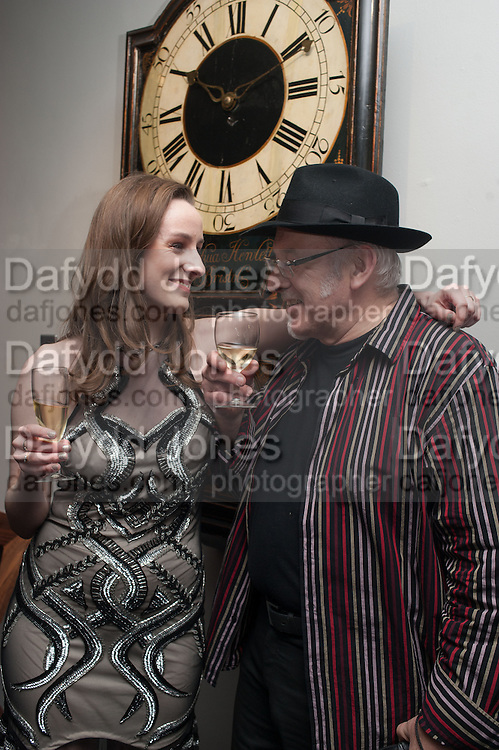 ROSE BAKER; FIL BAKER, The Culture Whisper Launch party. Royal College of art. Royal College of Art, Kensington Gore. London. 28 January 2014