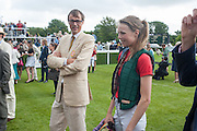 RODERICK CAMPBELL; EDIE CAMPBELL, Ladies Day, Glorious Goodwood. Goodwood. August 2, 2012