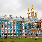 St. Catherine's Palace in St. Petersburg, Russia