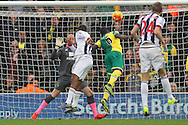 Jose Salomon Rondon of West Bromwich Albion scores his sides 1st goal during the Barclays Premier League match at Carrow Road, Norwich<br /> Picture by Paul Chesterton/Focus Images Ltd +44 7904 640267<br /> 24/10/2015