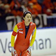 NLD/Heerenveen/20060122 - WK Sprint 2006, 2de 1000 meter dames, Hui Ren