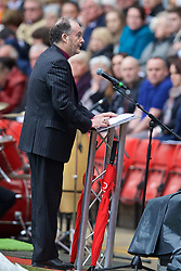 LIVERPOOL, ENGLAND - Friday, April 15, 2016: Bishop James Jones during the 27th Anniversary Hillsborough Service at Anfield. (Pic by David Rawcliffe/Propaganda)