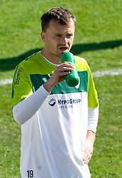 Suad Filekovic of Slovenia during a training session at  Hyde Park High School Stadium on June 9, 2010 in Johannesburg, South Africa.  (Photo by Vid Ponikvar / Sportida)