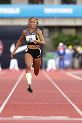 Olympic Trials Eugene 2012: Allyson Felix, womens' 100  meters