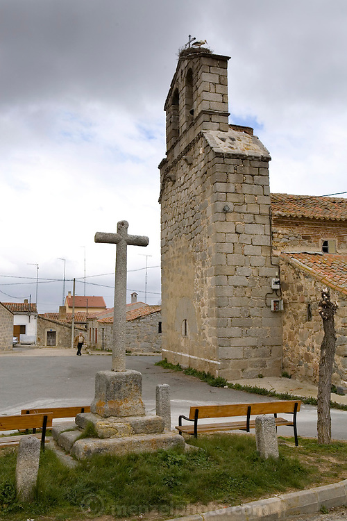 Small village near Avila, Spain.