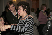 RUBY WAX, PARTY AT DARTMOUTH HOUSE AFTER A PREMIERE SCREENING OF PERFUME AT THE CURZON. LONDON.<br />