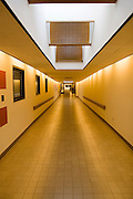 """Iowa USA, IA. Sioux City, Interior of the """"Skywalk"""" ? A system of hallways and passages where people can walk around downtown Sioux City without freezing. November 2006"""