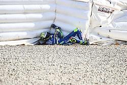 November 28, 2018 - Jerez, CADIZ, Spain - Joan Mir crash during the Moto GP Test in Circuito de Jerez, Jerez de la Frontera, Spain. Nov. 28th 2018. (Credit Image: © AFP7 via ZUMA Wire)