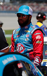 April 28, 2018 - Talladega, AL, U.S. - TALLADEGA, AL - APRIL 28:  Darrell Wallace Jr., Richard Petty Motorsports, Chevrolet Camaro Petty's Garage / Medallion Bank (43)  during Qualifying for the 49th annual Geico 500 on Saturday April 28,2018 at Talladega Superspeedway in Talladega, Alabama (Photo by Jeff Robinson/Icon Sportswire) (Credit Image: © Jeff Robinson/Icon SMI via ZUMA Press)