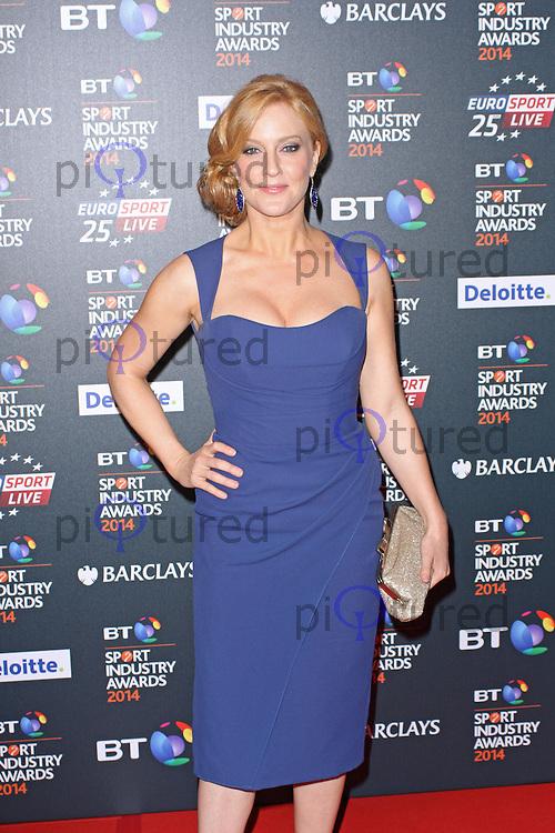 Sarah-Jane Mee, BT Sport Industry Awards 2014, Battersea Evolution, London UK, 08 May 2014, Photo by Brett D. Cove
