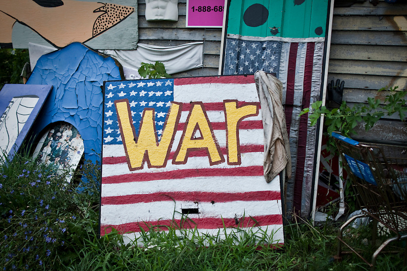 The Heidelberg Project is a permanent neighbourhood art installation located in Detroit, MI