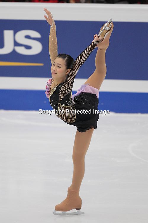 &lsquo;&ordm;&atilde;&permil;&Agrave;&Oslash;Žq/Kanako Murakami (JPN), <br />DECEMBER 11, 2010 - Figure Skating : ISU Grand Prix of Figure Skating Final 2010/2011 Women's Free Skating at Capital Indoor Stadium, Beijing, China. (Photo by Akihiro Sugimoto/AFLO SPORT) [1080]