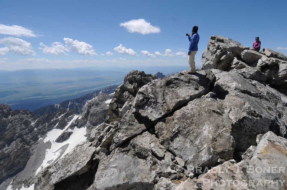 Climb of the Middle Teton