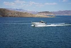 Boat in Lake Mead