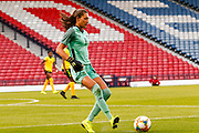 Jamaica's Keeper Sydney SCHNEIDER (Univ. North Carolina (USA)) during the International Friendly match between Scotland Women and Jamaica Women at Hampden Park, Glasgow, United Kingdom on 28 May 2019.