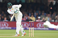 Azhar Ali of Pakistan on DAy Two of the NatWest Test Match match at Lord's, London<br /> Picture by Simon Dael/Focus Images Ltd 07866 555979<br /> 25/05/2018