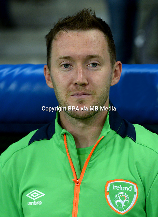 Uefa - World Cup Fifa Russia 2018 Qualifier / <br /> Republic of Ireland National Team - Preview Set - <br /> Aiden McGeady