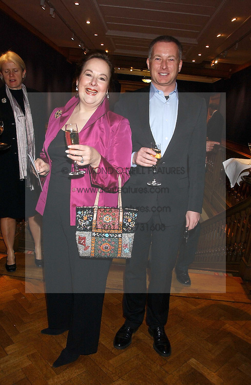 SHELLEY VON STRUNCKEL and SIMON MILLWARD at the Lighthouse Gala Auction in aid of the Terrence Higgins Trust held at Christie's, St.James's, London on 15th March 2006.<br />