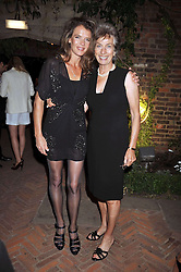 Left to right, ANNABEL CROFT and VIRGINIA WADE at The Ralph Lauren Sony Ericsson WTA Tour Pre-Wimbledon Party hosted by Richard Branson at The Roof Gardens on June 18, 2009