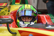 Lucas Di Grassi of Brazil and ABT Shuffler Audi Sport during Round 10, Formula E, Battersea Park, London, United Kingdom on 3 July 2016. Photo by Martin Cole.