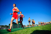 Yorkville twins Jake (3) and Luke Hoffert lead the pack in the 3200 Meter Run for the Plainfield North 3A Boys Track and Field Sectional. Thursday, May 21st, 2015, in Plainfield. (Gary Middendorf-Chicago Tribune Media Group)