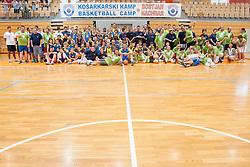 Kosarkarski kamp Boki Nachbar on July 10, 2014 in Sports hall Bonifika, Koper, Slovenia. Photo by Urban Urbanc / Sportida