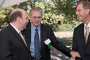 18414Academic & Research Center Groundbreaking September 29, 2007...Howard Lipman, Rick Vincent, and Jack Brose