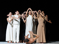 Full dress rehearsal for Sasha Waltz & Guests 'Continu' at Sadler's Wells, London, Great Britain, September 27, 2012. Photo by Elliott Franks / i- Images.