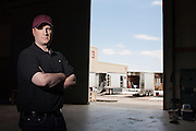 "Kevin Feige, president of Marvel Studios and a comics enthusiast, during a break on the set of Marvel's next movie ""The Avengers"" in Albuquerque, N.M., July 14, 2011."