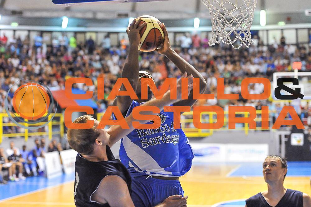 DESCRIZIONE : 3&deg; International Tournament City of Cagliari Banco di Sardegna Dinamo Sassari - Krasnye Krylya Samara<br /> GIOCATORE : Caleb Green<br /> CATEGORIA : Tiro<br /> SQUADRA : Banco di Sardegna Dinamo Sassari<br /> EVENTO :  3&deg; International Tournament City of Cagliari<br /> GARA : Dinamo Banco di Sardegna Sassari - Krasnye Krylya Samara<br /> DATA : 28/09/2013<br /> SPORT : Pallacanestro <br /> AUTORE : Agenzia Ciamillo-Castoria / Luigi Canu<br /> Galleria : Precampionato 2013-2014<br /> Fotonotizia : 3&deg; International Tournament City of Cagliari Banco di Sardegna Dinamo Sassari - Krasnye Krylya Samara<br /> Predefinita :